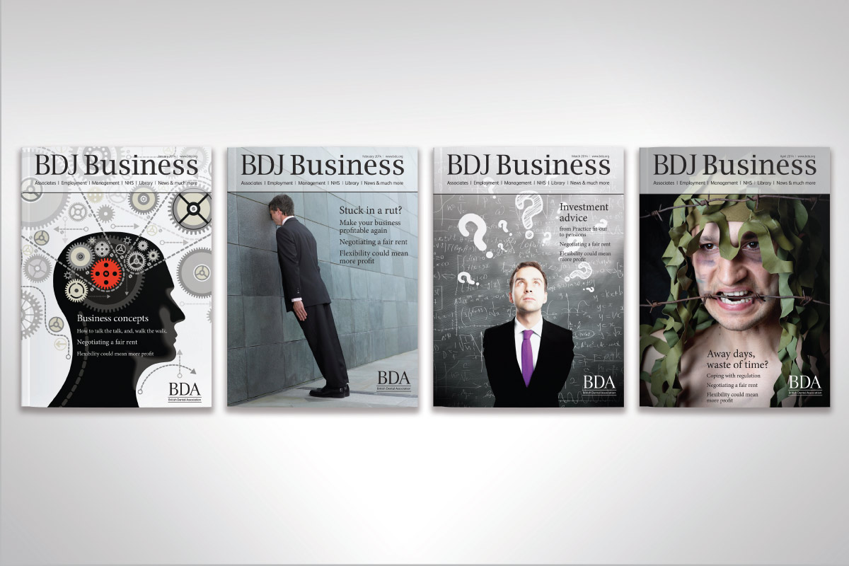 BDJ Business: sample covers