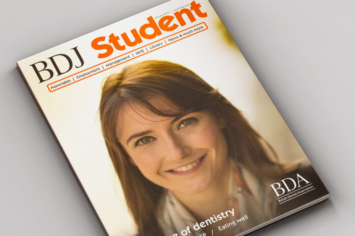 BDJ Student: cover