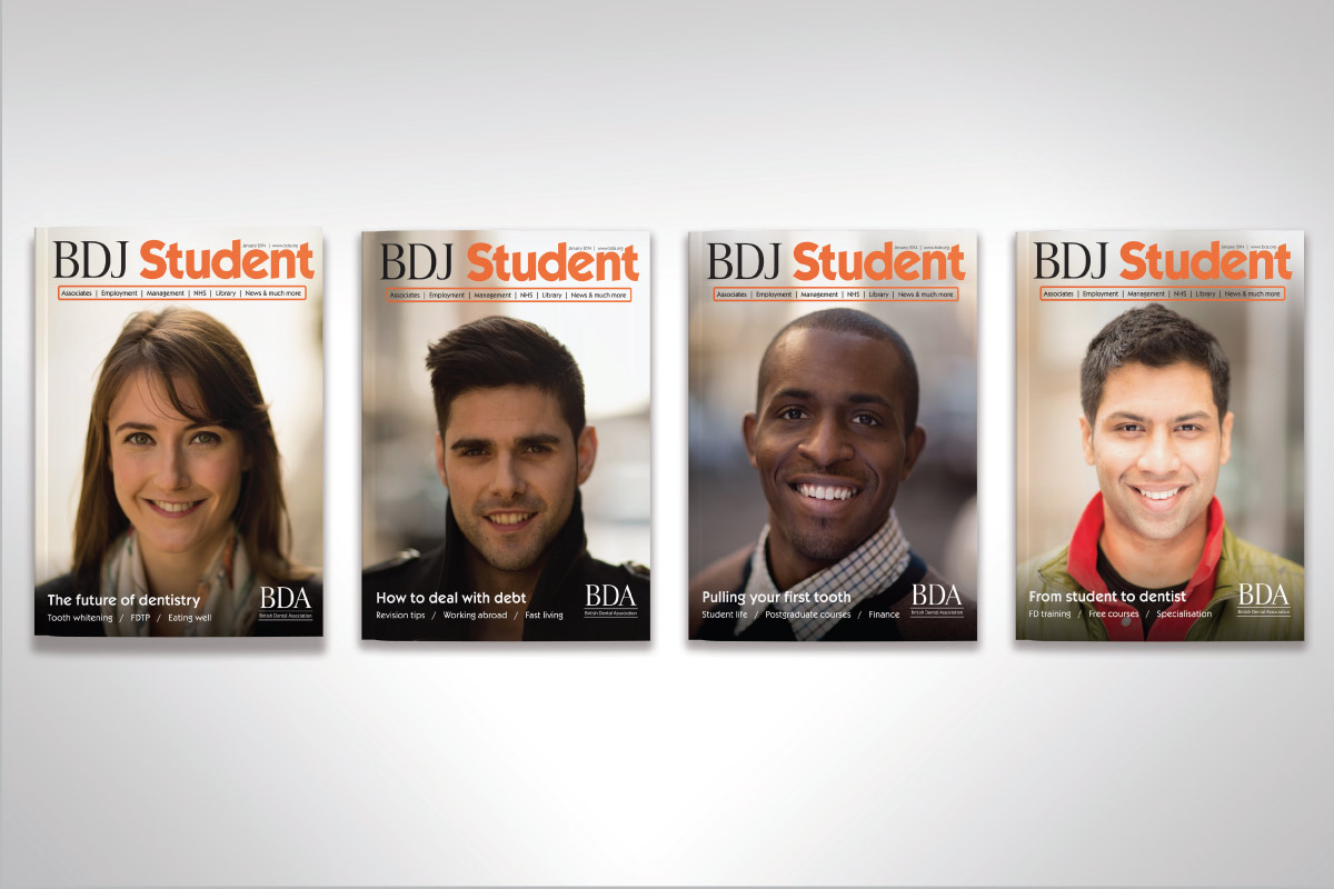 BDJ Student: sample covers