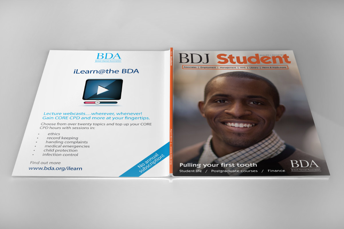 BDJ Student: front and back cover