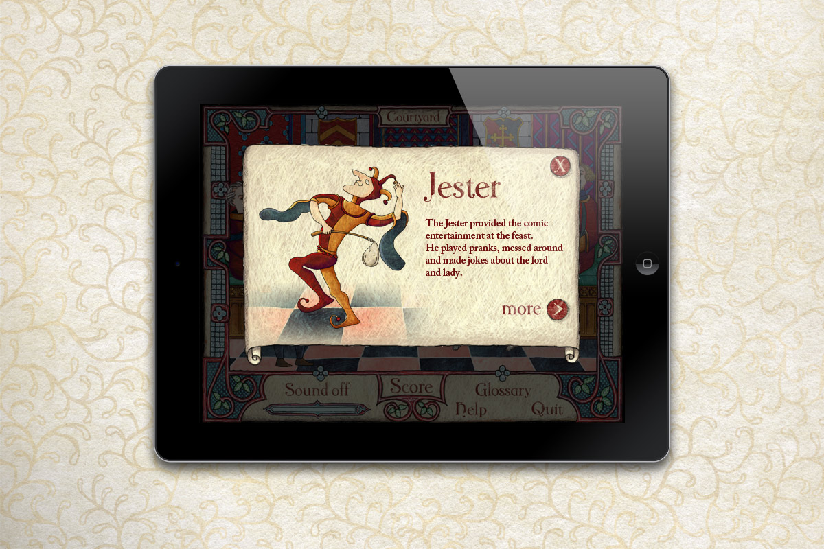 Feast section: jester