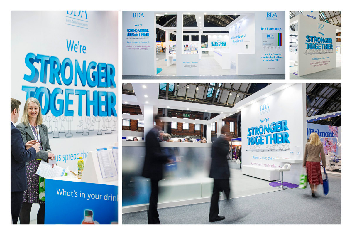 Conference stand graphics